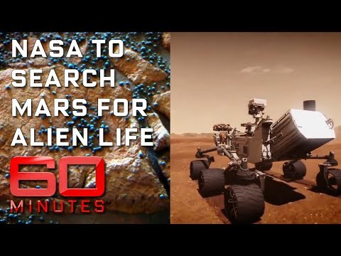 Mission to Mars searching for extra-terrestrial life | 60 Mi