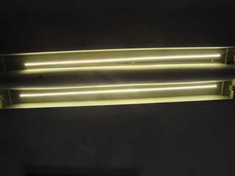 How to replace fluorescent tube lighting with led strip lights youtube how to replace fluorescent tube lighting with led strip lights aloadofball Gallery