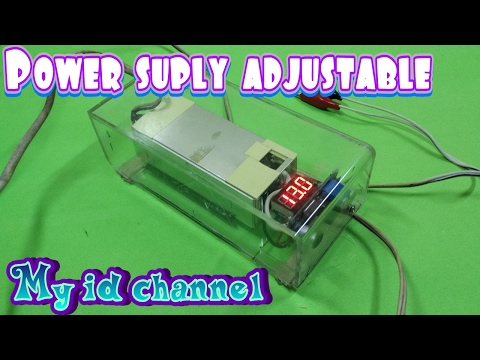 Make adjustable power supply / output voltages can be set