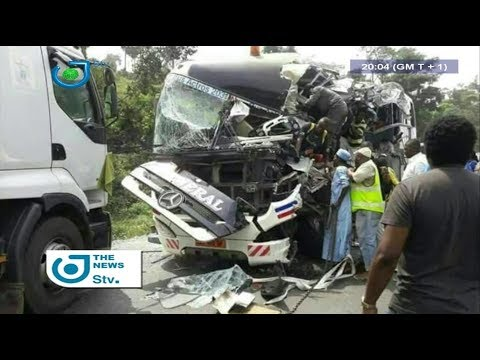 STV NEWS 08:00 PM -(GENERAL VOYAGE and ROAD ACCIDENT : GOV'T DECIDES to SANCTION)- 24th October 2017