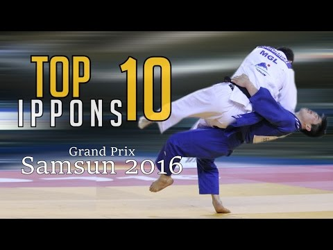 TOP 10 IPPONS | Grand Prix Samsun 2016 | JudoHeroes