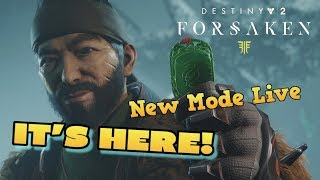 DESTINY 2 GAMBIT EARLY ACCESS LIVE! Hunting For Bungie Bounty - Forsaken Update Hype