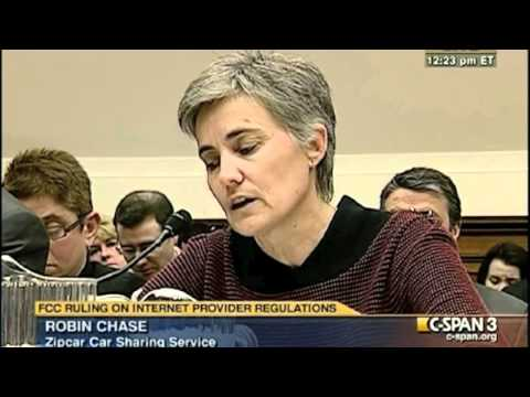 Zipcar Co-Founder Robin Chase Opening Testimony, March 9, 2011