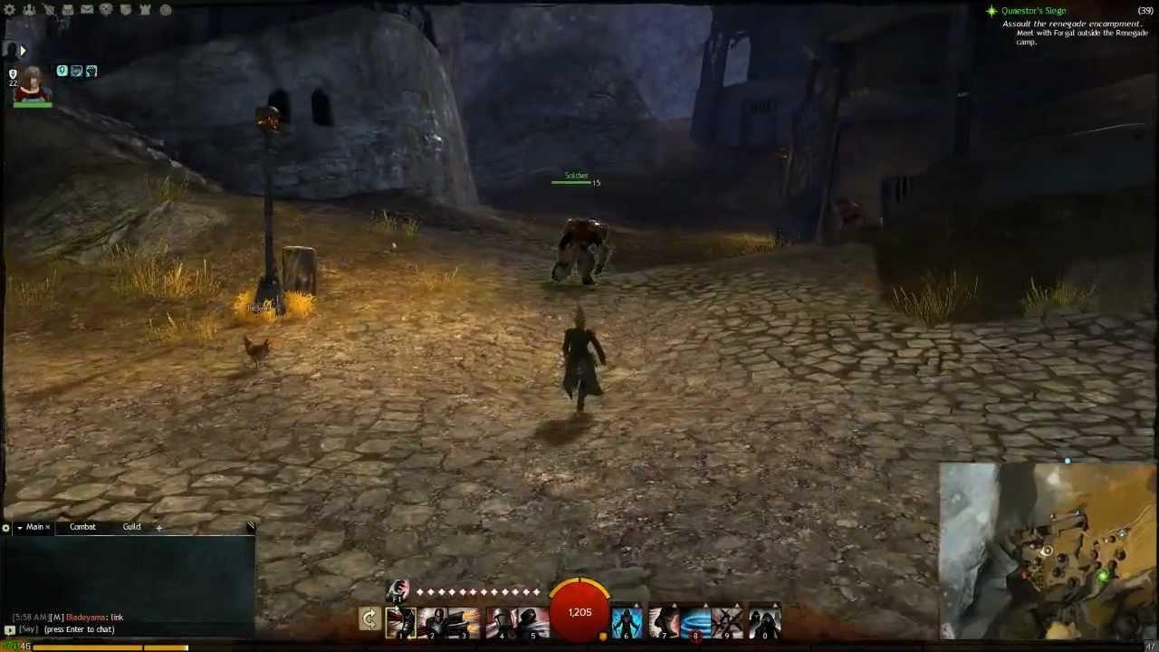 Guild Wars 2 Black Citadel Secret Charr\'s ( Town of Nolan) Hidden Garden - Monger