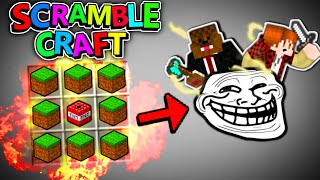 "Minecraft TROLLING with RANDOMIZED RECIPES! - ""Welcome to the SMP! "" - Minecraft Scramble Craft SMP"