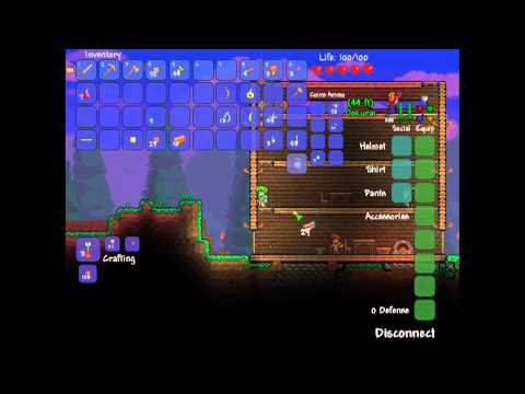 Terraria Co-op Episode 2: Pillaging Of Resources