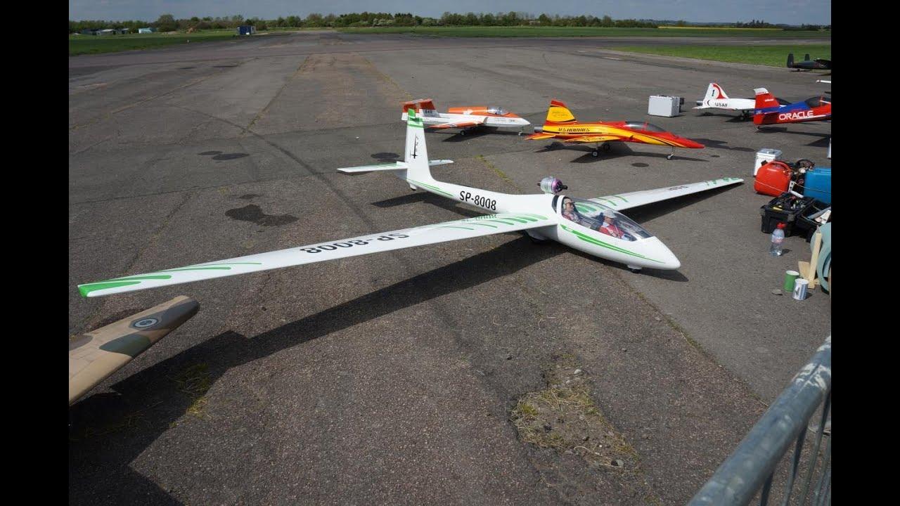 Rc Jet Glider Fast Flying 21 Feet Wingspan Escala Enorme Planeador