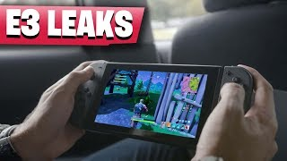 Fortnite Nintendo Switch OFFICIAL Download Release E3 LEAKS