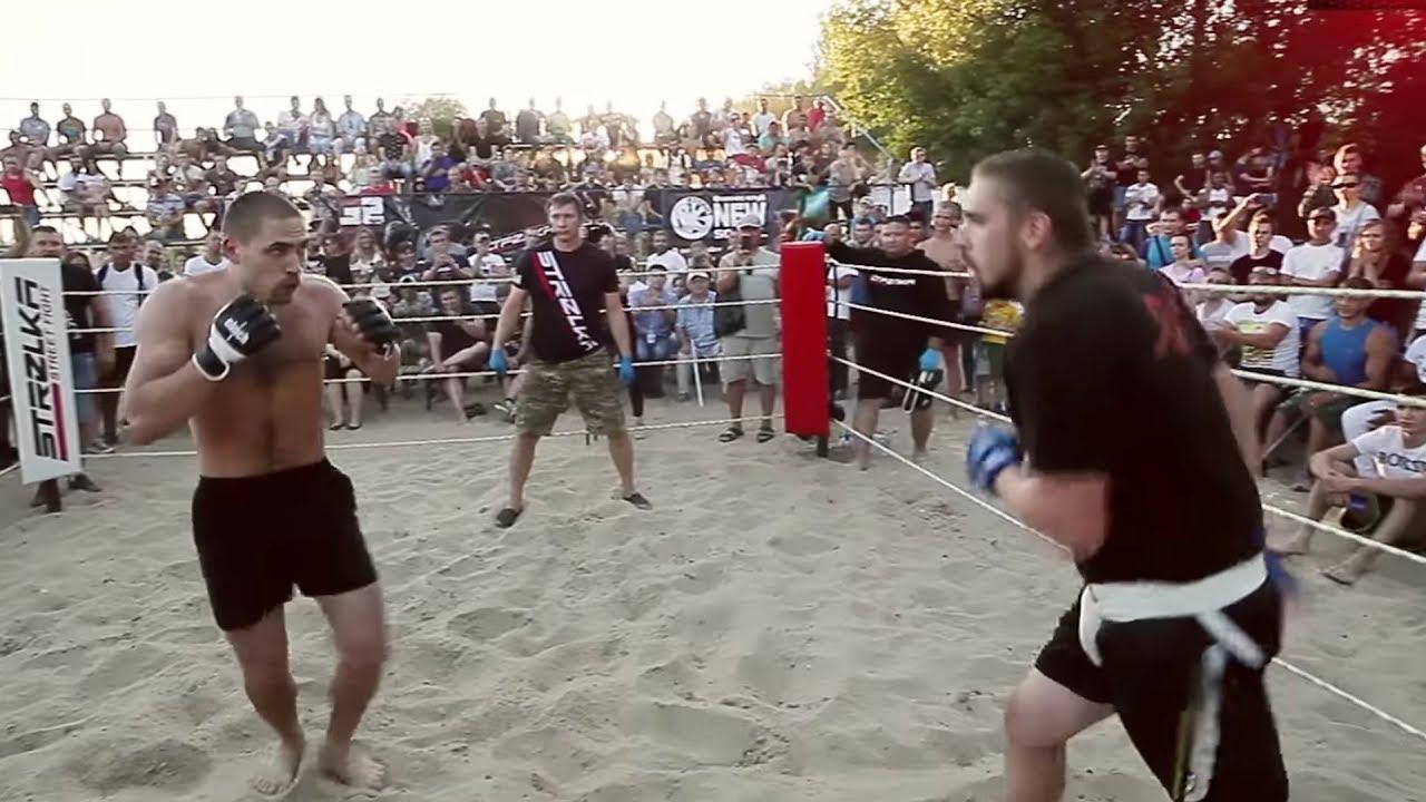 Питерский против Брянского бойца без правил !!!