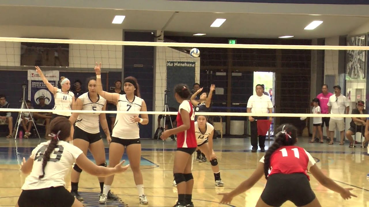 New City Nissan >> New City Nissan Girls Volleyball State Championship D 1 Moanalua Vs