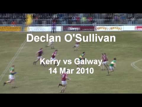 Declan O Sullivan Goal vs Galway