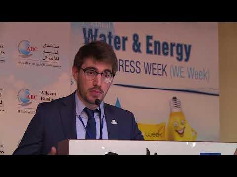 Mr. Julien Richard at 3rd Annual Water & Energy Congress
