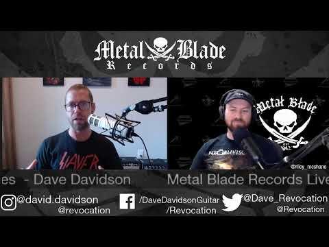 Metal Blade Live Series - Dave Davidson of Revocation