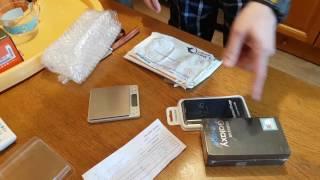 Замовлення з from.ae. Отримання EMS у кур'єра. Galaxy S7 Edge Duo 128Gb Black Pearl