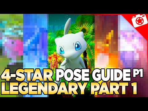 Legendary Pokemon (Part 1) 4-Star Pose & Request Guide   New Pokemon Snap