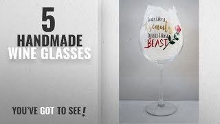 Top 10 Handmade Wine Glasses [2018]: Extra Large Wine Glass, Beauty and the Beast inspired, Ideal