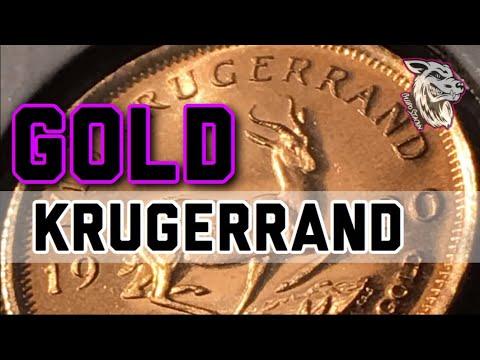 KRUGERRAND SOUTH AFRICA GOLD BULLION 1/10 oz IN HD! - LATEST FRACTIONAL GOLD PICK UPS