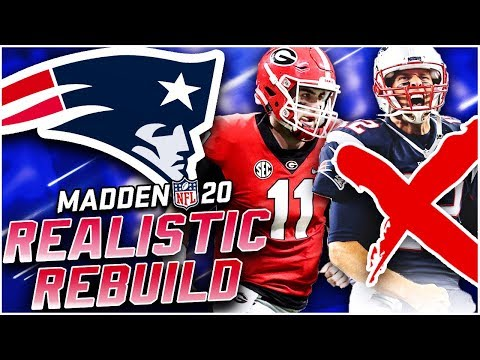 Rebuilding the New England Patriots | Jake Fromm Replaces Tom Brady! Madden 20 Franchise