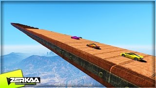 LONGEST MOUNTAIN RAMP | GTA 5 Funny Moments | E667 (GTA 5 PS4)(, 2015-10-25T21:47:31.000Z)