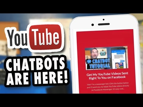 How To Make Facebook Messenger Chatbots For YouTube (ManyChat Tutorial)
