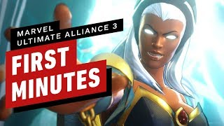 The First 17 Minutes of Marvel Ultimate Alliance 3