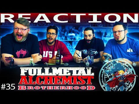 """Fullmetal Alchemist: Brotherhood Episode 35 REACTION!! """"The Shape of This Country"""""""