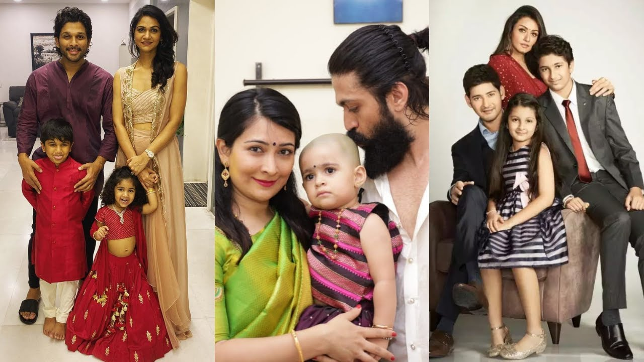 9 Beautiful Real Life Partners of South Indian Actors - Allu Arjun, Brahmanandam, Prbhas, Jr. NTR