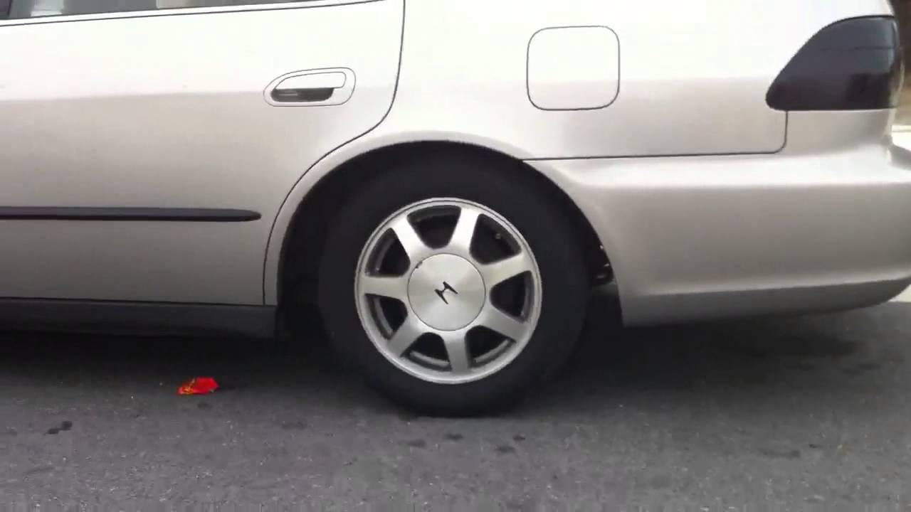 99 accord 2 inch drop - YouTube