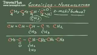 Ejercicios de nomenclatura parte 1