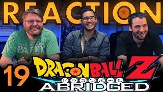 TFS DragonBall Z Abridged REACTION!! Episode 19
