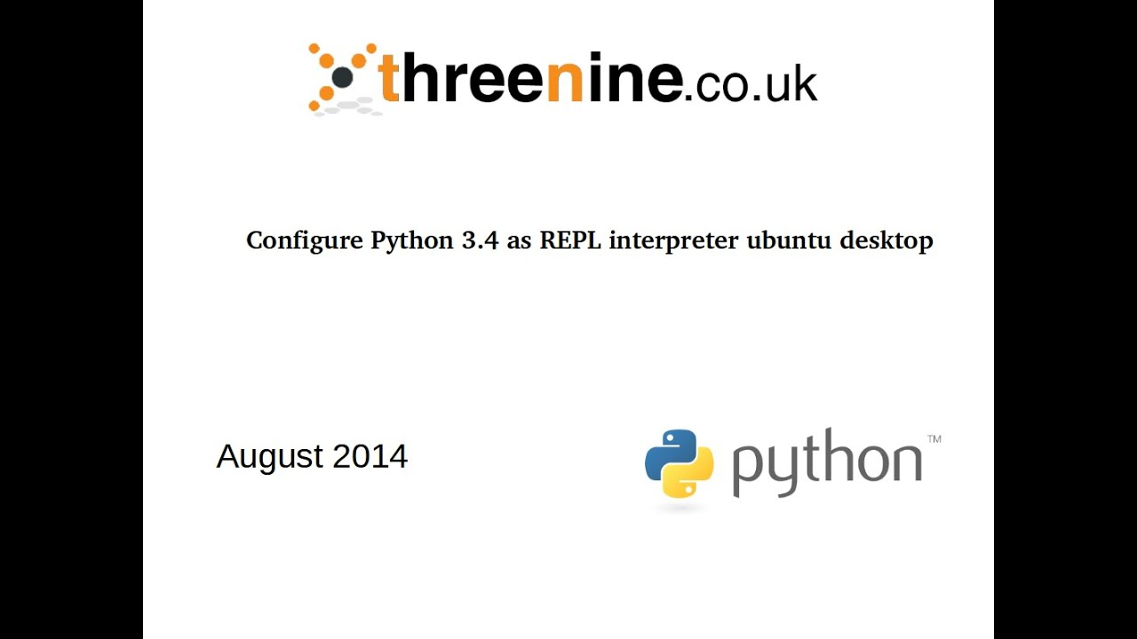 Configure Python 3 as default on Ubuntu | threenine co uk