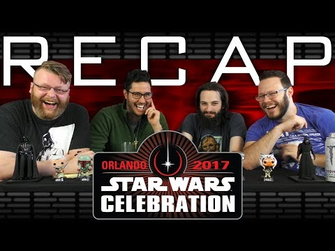 Star Wars Celebration RECAP with BLIND WAVE!!
