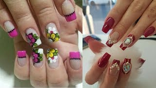 Cute and Easy Nail Art Design for Beginners for short nails #9