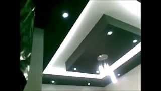 Двухуровневый Натяжной Потолок с Подсветкой в Маленькой Комнате(, 2016-04-19T22:10:08.000Z)