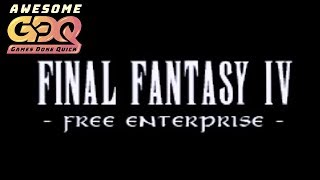 Final Fantasy IV - Free Enterprise Race of Neerrm, riversmccown, Khobahi, Obdajr - AGDQ2019