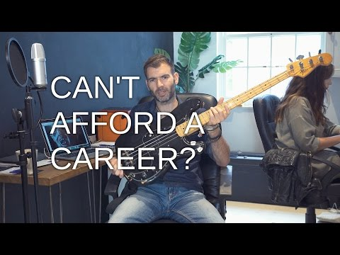 HOW TO HAVE A CAREER IN MUSIC ON A BUDGET / MUSICIAN ADVICE #4
