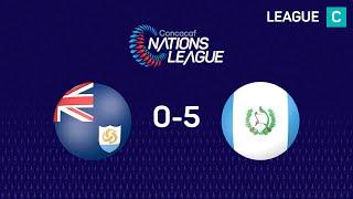 #CNL Highlights - Anguila 0-5 Guatemala