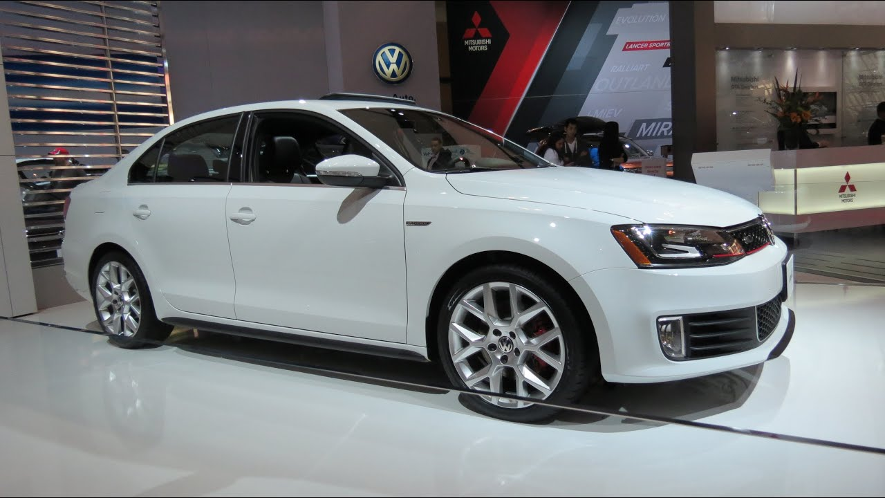 2015 Jetta Gli >> 2014 VW Jetta GLI At The 2014 CIAS Canadian Auto Show In ...