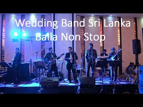 Wedding band sri lanka -Baila Nonstop-Why Five