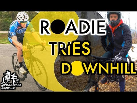 CAN THIS ROADIE SURVIVE DOWNHILL MOUNTAIN BIKING?