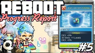 Cubing CRA Endgame Gear - GOAL REACHED : MapleStory [Reboot Progress Report] Pt.5