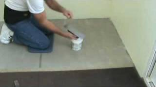 How to install carpet glue adhesive