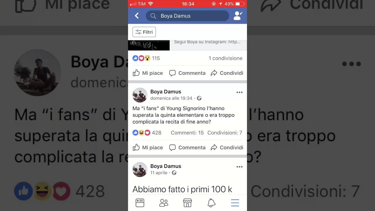 Boya Damus Dissing Young Signorino Youtube