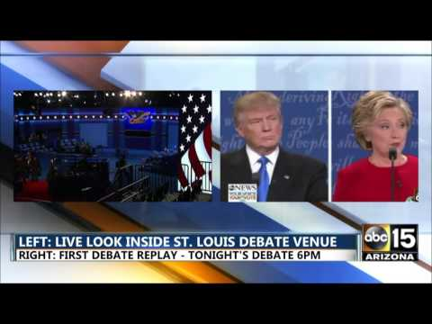 LIVE: The Second Presidential Debate Town Hall - Hillary Clinton vs. Donald Trump - St. Louis