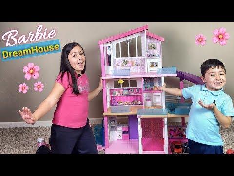 Abriendo La Casa De Los Suenos De Barbie 2018 Barbie Dream House
