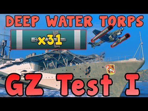 Graf Zeppelin 225K and 157 Secondary Hits - World of Warships