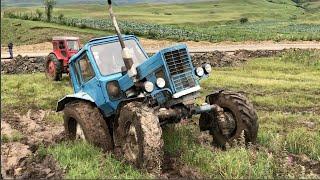Трактор Т40 Против Трактор 82 МТЗ | Сравнение Тракторов в Грязи