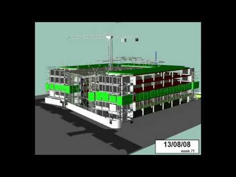 Synchro 4D Construction Simulation Software Presentation