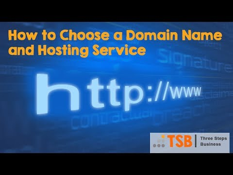 What is a Domain Name, Hosting Services and Choosing the right Service
