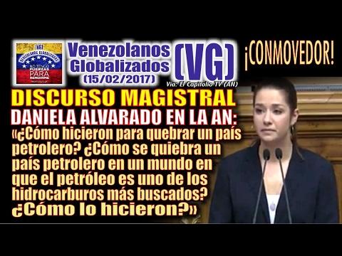¡CONMOVEDOR! – Discurso Magistral de Daniela Alvarado en la Asamblea Nacional  - (VG)